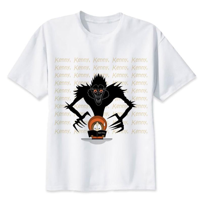 death note T-shirt men summer t-shirt boy print tshirt anime t shirt brand clothing white color tops tees MR1315