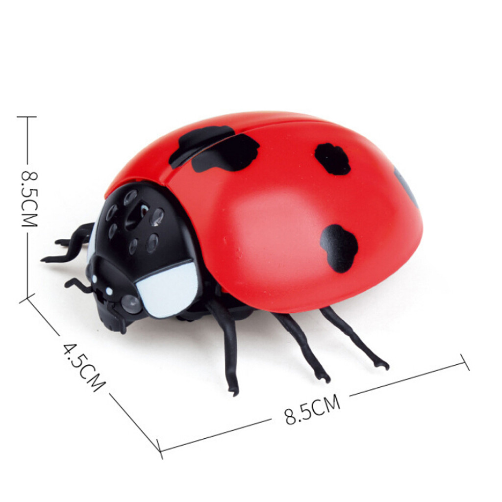 Image 5 - Children Tricky Toys Infrared Induction Electric Remote Control ladybug Toy Gift practical and convenient Remote control toys-in RC Robots & Animals from Toys & Hobbies