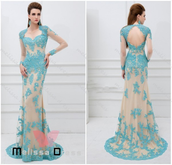 Best Selling Tulle Lace Appliques Beaded Long Dress Woman Sweetheart ...