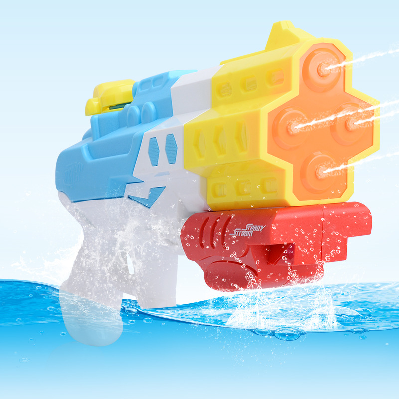 Summer Water Gun Toy Kids Outdoor Sports Game Toys Pressure Plastic Squirt Gun Water Playing Toys for Children Boys Gift