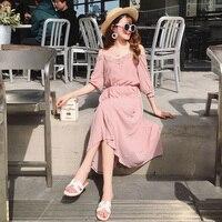 Bare Shoulder Thin Lace Sweet Midi Dress Fashion Temperament Office Work Dress Women Plus Size 4xl Elegant Vestido De Festa