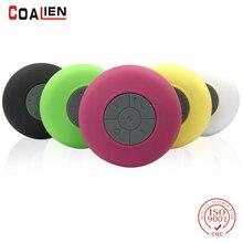 COALIEN Wireless Bluetooth Speaker Waterproof Outdoor Portable Handsfree Microphone Speaker HIFI Subwoofer Bathroom Music Player