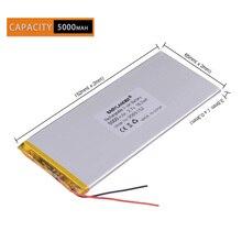 Ионный литий-ионный аккумулятор 3 провода 3,7 в 5000 мАч 3565152 полимер литий-ионный/литий-ионный аккумулятор для планшетных ПК POWER BANK pipo сотовый телефон