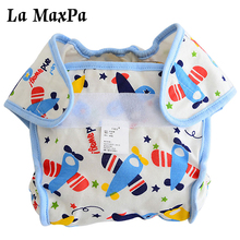 2018 Cartoon Washable Baby Diaper Cover Waterproof Nappies Training Pants Newborn Boys Girls Reusable Diapers