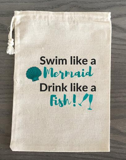 custom Mermaid Theme Bachelorette Hangover bridal shower recovery ...