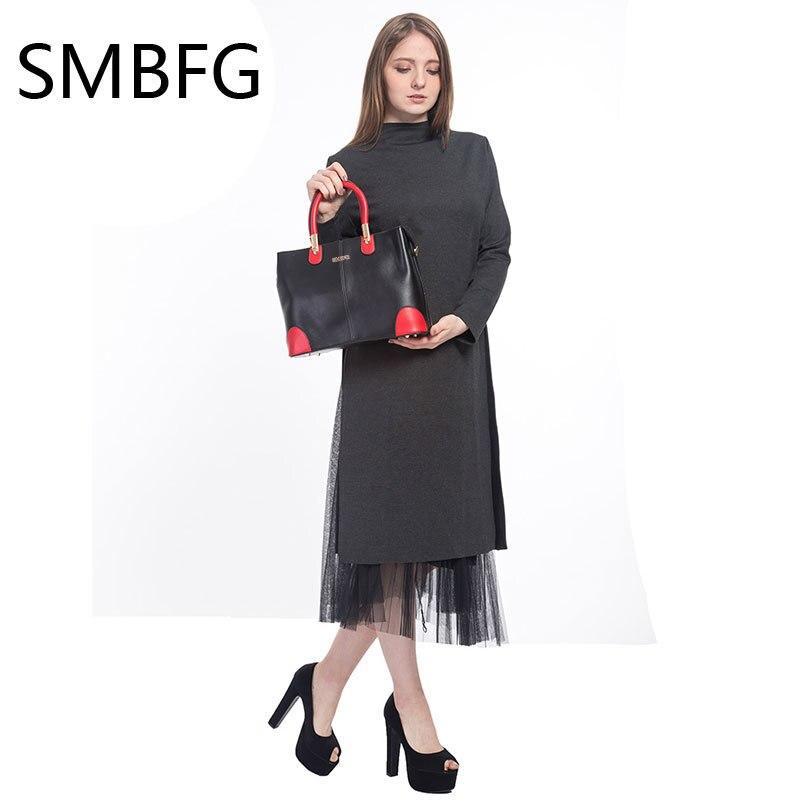 Ženske usnjene torbice ženska nova ženska oblačila moda svetlo - Torbice - Fotografija 2
