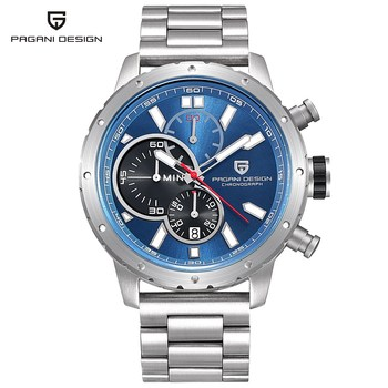 Men Waterproof Chronograph Quartz Watch Luxury Brand 2