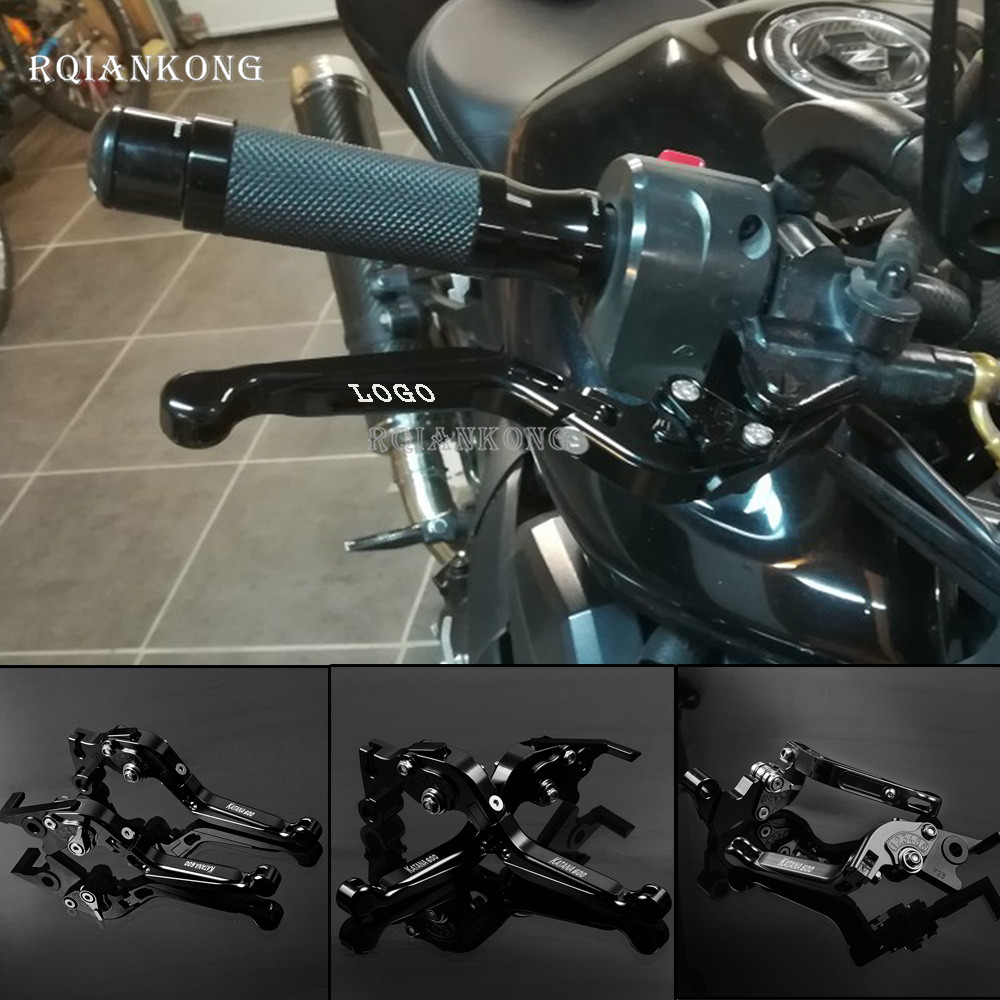 CNC Folding Motorcycle lever For Suzuki SV1000 S TL1000R GSF650 GSF 650 BANDIT GSX1400 1998 2007 Adjustable Brake Clutch Levers in Levers Ropes Cables from Automobiles Motorcycles
