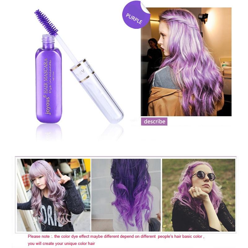 Fashion Hair Color Temporary Hair Dye Cream Fast Dry Washable Hair