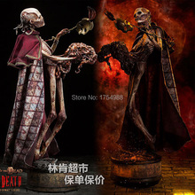 halloween horror decoration the red deaths skull horrible court figure statue easter event party supplies - Halloween Horror Decorations