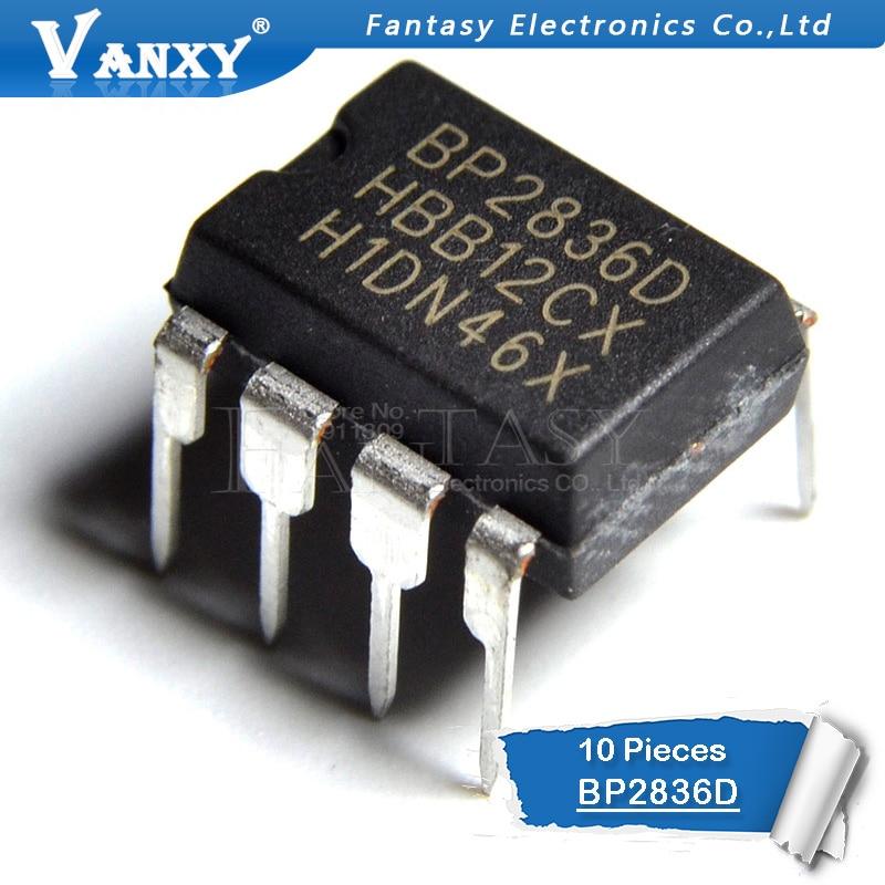 10PCS BP2836D DIP8 BP2836 DIP 2836D DIP-8