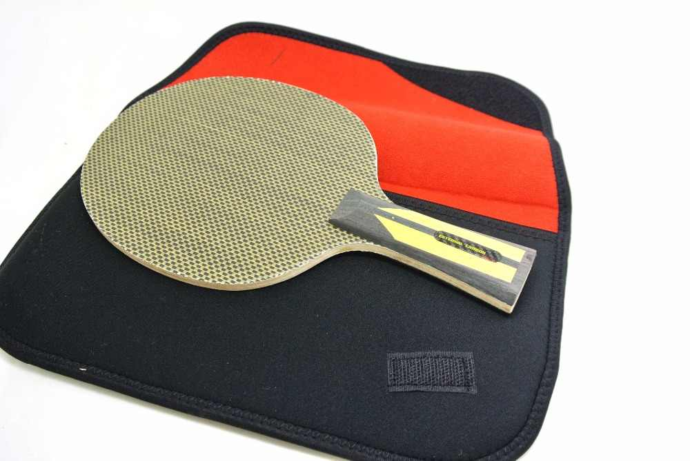XVT Professional EXTERNAL CARBON ZLC OFF++ Table Tennis Blade/ ping pong blade/ table tennis bat SEND WHOLE COVER CASE