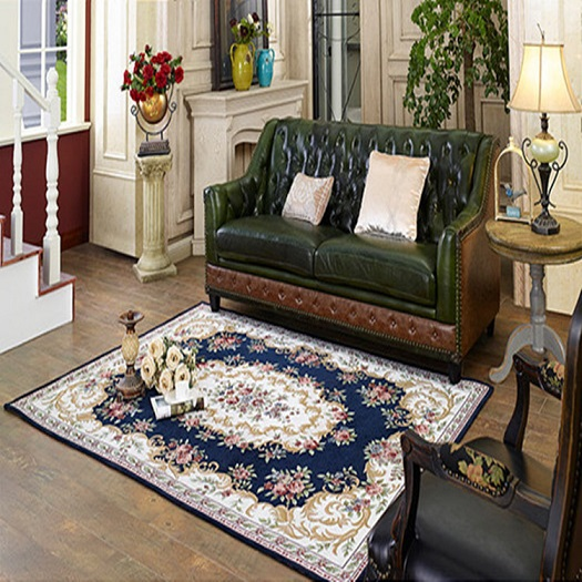 Luxury Chenille Europe Living room/bedroom Carpets Tea table Chair ...