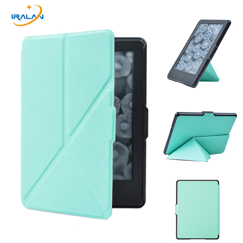 High quality origamil PU leather stand smart case for 2016 All-New Kindle (8th Generation 2016) ereader cover+screen film+stylus for amazon 2017 new kindle fire hd 8 armor shockproof hybrid heavy duty protective stand cover case for kindle fire hd8 2017
