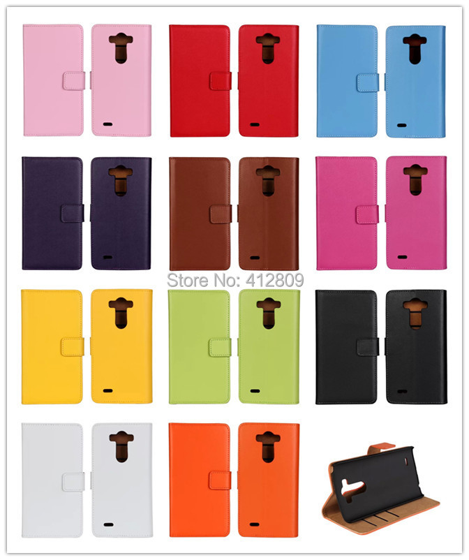 11 գույներ Բնական կաշվե դրամապանակով - Բջջային հեռախոսի պարագաներ և պահեստամասեր - Լուսանկար 6