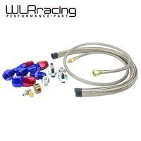 WLR гоночный-T3 T4 T3/T4 T70 T66 TO4E Турбокомпрессор для подачи масла  леска для отвода масла  набор для слива масла  WLR-TOL21