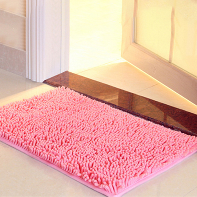 3 Sizes Bath Mat Bathroom Carpet For Toilet Rug Tub