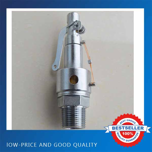 DN15 SS304 Sanitary Spring Safety Valve 0.25MPA Sterilization Furnace Boiler Sanitary Valve dn15 automatic bypass valve for wall mounted boiler system