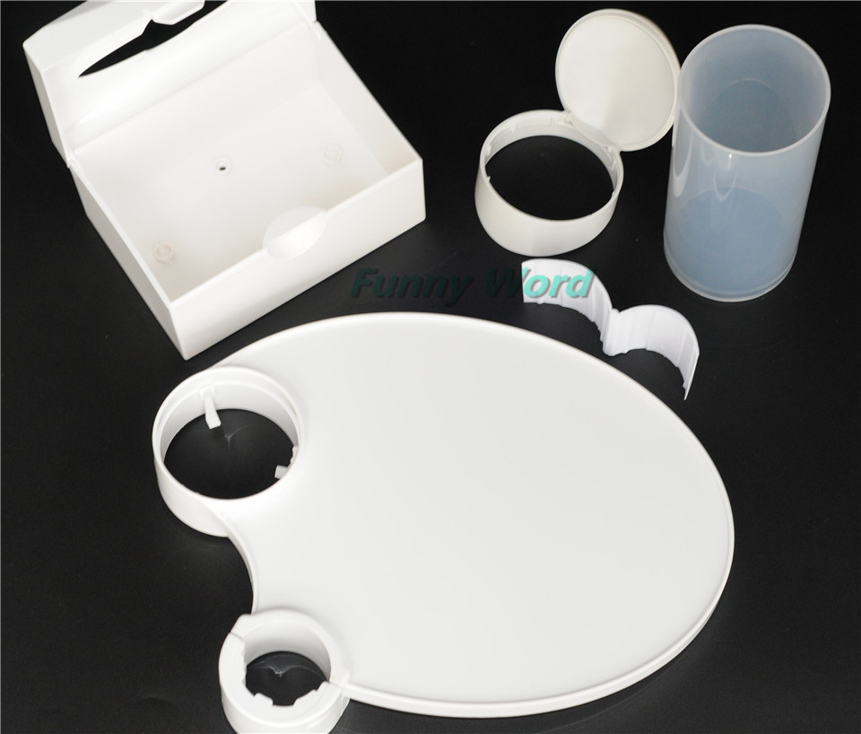 1 Dental Plastic Post Tray And 1 Chair Accessories Disposable Cup Storage&1 Holder Paper Holder gurpreet kaur deepak grover and sumeet singh dental mobility and splinting