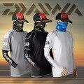 2017 NOVO De Pesca DAIWA DAWA roupas T-shirt de manga Curta verão Protetor Solar Quick dry Anti-UV DAYIWA Ultrafinos Frete grátis