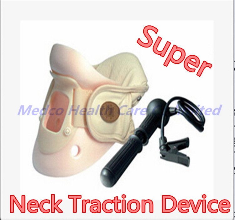 DHL/EMS free shipping 10pc/lot best medical Cervical traction neck traction therapy device neck support air neck spine brace 10pcs lot free shipping 10pc lot rcj330n25 rcj330