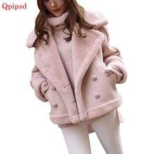 616f36e10 Faux Shearling Womens Overcoat Sheepskin Coats Womens Thick Suede Jackets  Womens Autumn Winter Lambs Wool Short