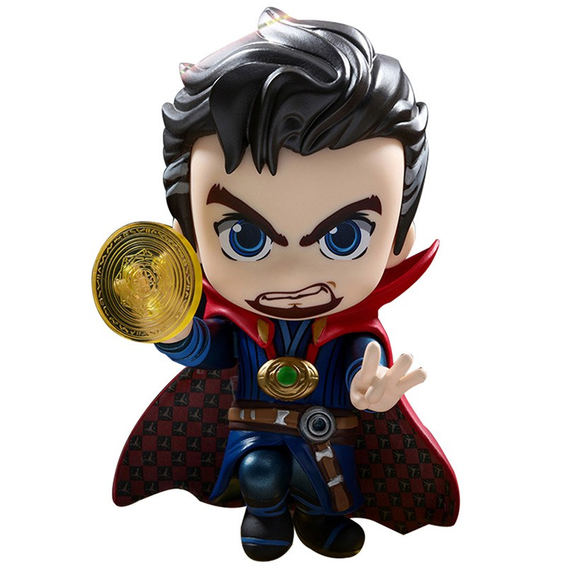 Hot Toys Cosbaby Doctor Strange PVC Figure Collectible Model Toy 8cm new hot christmas gift 21inch 52cm bearbrick be rbrick fashion toy pvc action figure collectible model toy decoration