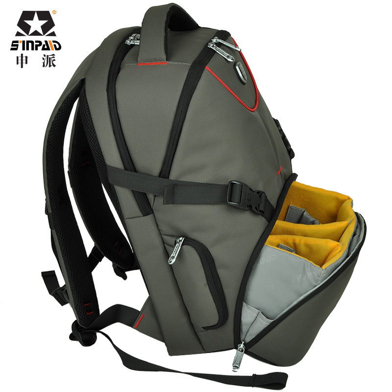 New Pattern DSLR Camera Bag Backpack Video Photo Bags for Camera d3200 d3100 d5200 d7100 Small Compact Camera Backpack free shipping new lowepro mini trekker aw dslr camera photo bag backpack with weather cove