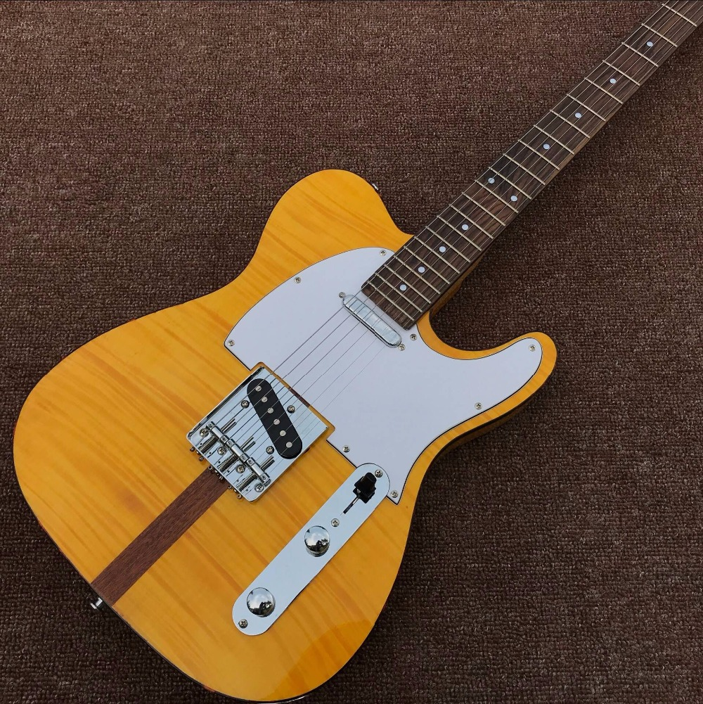 Left Handed Guitar Ukelele Chinese Electric Guitars Custom Tele Hs Anderson & Hohner Madcat Vintage Rare Flame Top Finish Nicer