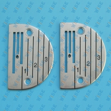 NEEDLE PLATE – YAMATA FY5318 ARTISAN 797 797A 797AB WALKING FOOT # 12482LGW 2PCS
