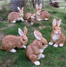Garden Decoration Ideas Artificial Rabbits