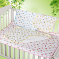 45*35CM Bamboo Fiber 3 Layers Baby Travel Home Waterproof Urine Matelas Infant Cover Bedding Nappy Burp Cotton Changing Pad