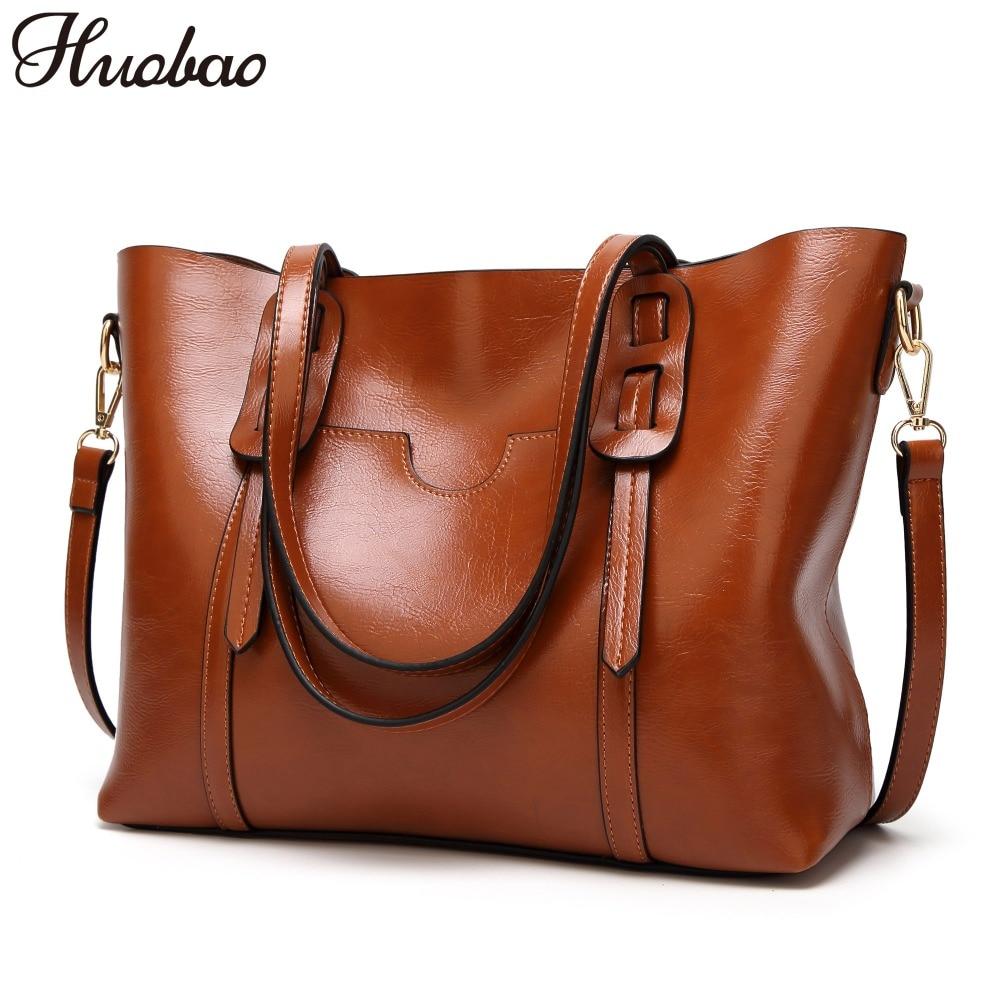 2019 Women Bag Leather Handbags Luxury Lady Hand Bags Ladies Shoulder Messenger Bags High Quality Casual Female Bag Vintage Tote