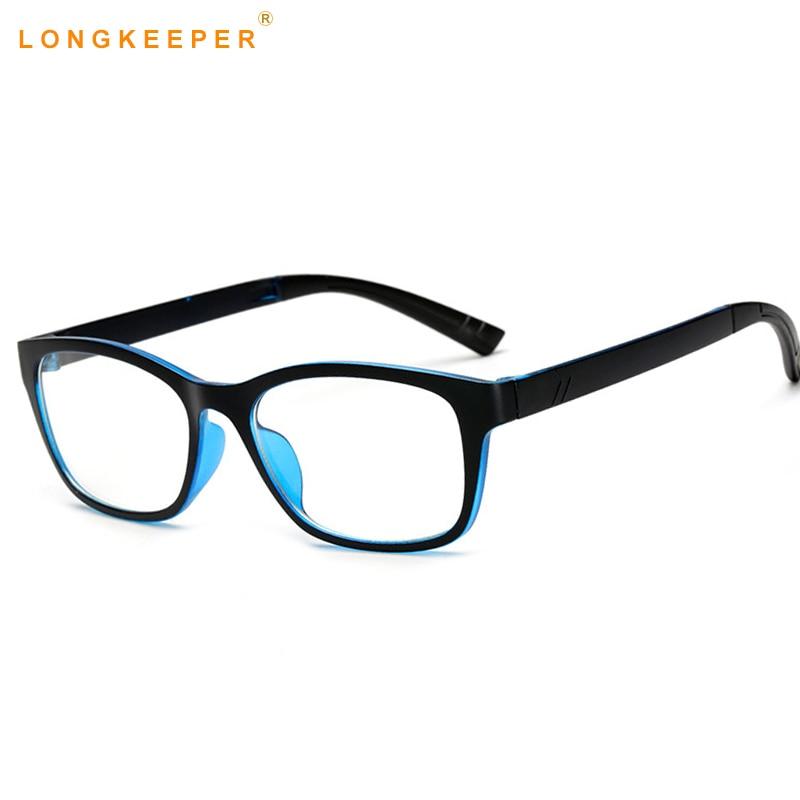 Rechteck Brillen Optische Rahmen Klare Linse Schwarze Brille Leopard ...