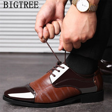 italian fashion formal shoes men wedding dress office suit men shoes leather oxford shoes for men chaussure homme sapato social(China)