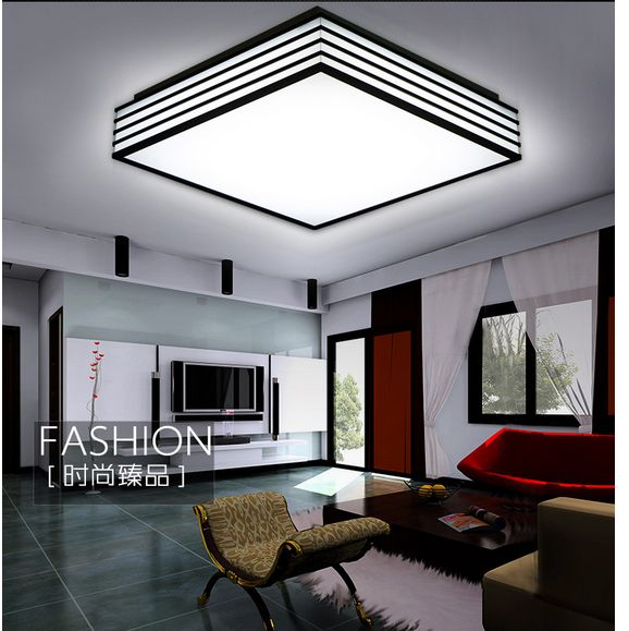 plafond lamp ceiling led kitchen light lampshade lighting fixture lustres de sala luxury led ceiling lustre lampshade plafond in ceiling lights from lights - Led Kitchen Light Fixtures