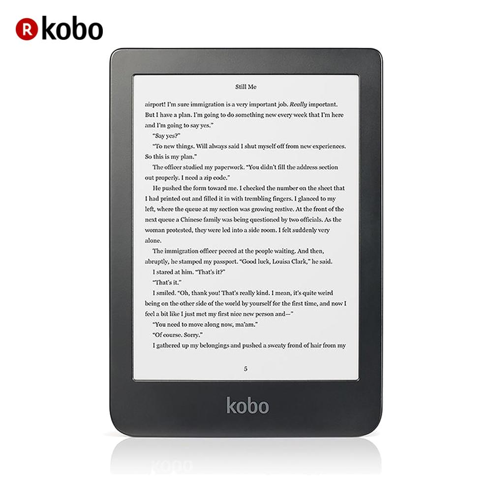 Écran tactile KOBO Clara HD lecteur e-Book Wifi 8 go (encre 6''E Carta, CBR, Cbz, ePub DRM, HTML, Mobi, PDF, RTF, TXT, JPEG, BMP, Gif, PNG, tiff)