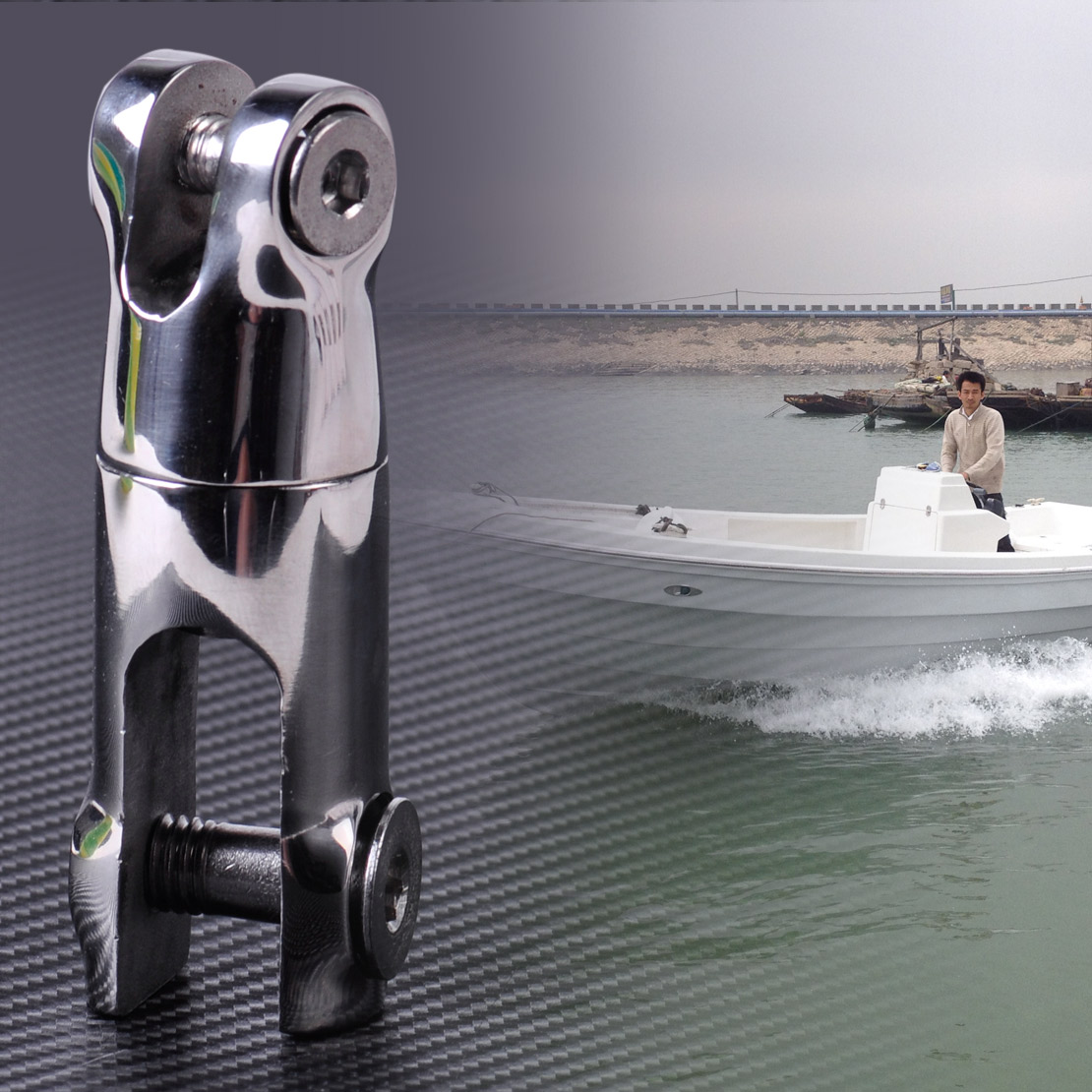 CITALL 1pc Stainless Steel Anchor 1/4
