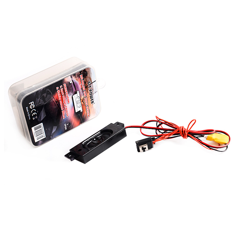 1PCS GT Power Police Remote Car Voice System Siren Sounder Module 4.8-6V Police Warning  ...