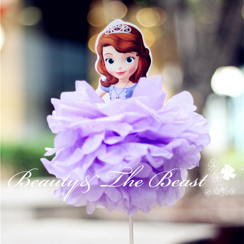 Surprising 12 High Princess Sofia Cake Toppers Cake Accessory Cake Table Personalised Birthday Cards Cominlily Jamesorg
