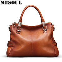 Designer Handbags Women High Quality Top Handle Bags Genuine Leather Large Shoulder Bag Luxury Brand Tote