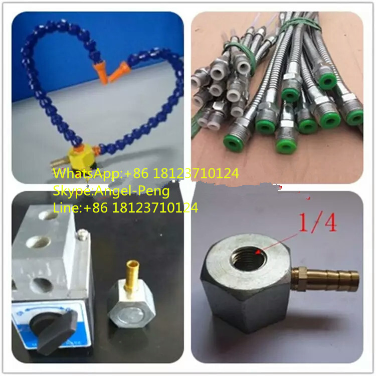 Mist Coolant System,Magnetic Block,Tool Cooling Tube,Mist Sprayer,coolant Oil Pipe For CNC Engraving Machine