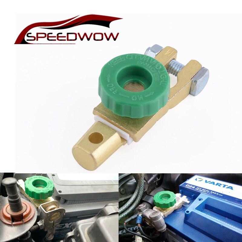 Speedwow interruptor automotivo para bateria, isolador interruptor, desconexo, para vw, toyota, nissan, mazda peças