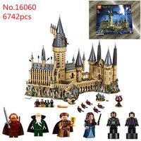 Гарри Поттер 16060 6742 шт. с оригинальной коробке building Кирпичи игрушки для детей Лучший Новогодний подарок legoingly Гарри Поттер