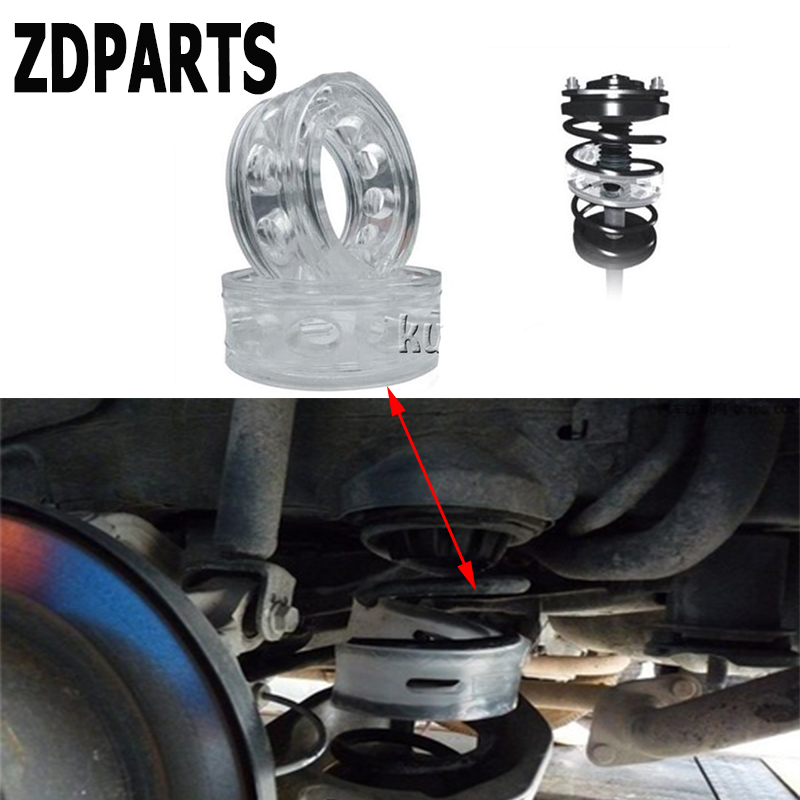 ZDPARTS 2PCS For Ford Focus 2 3 Fiesta Mondeo MK Chevrolet Cruze Aveo Kia Rio Ceed BMW Car Styling Spring Bumper Shock Absorber high quality front rear car auto shock absorber spring bumper power cushion buffer for chevrolet cruze