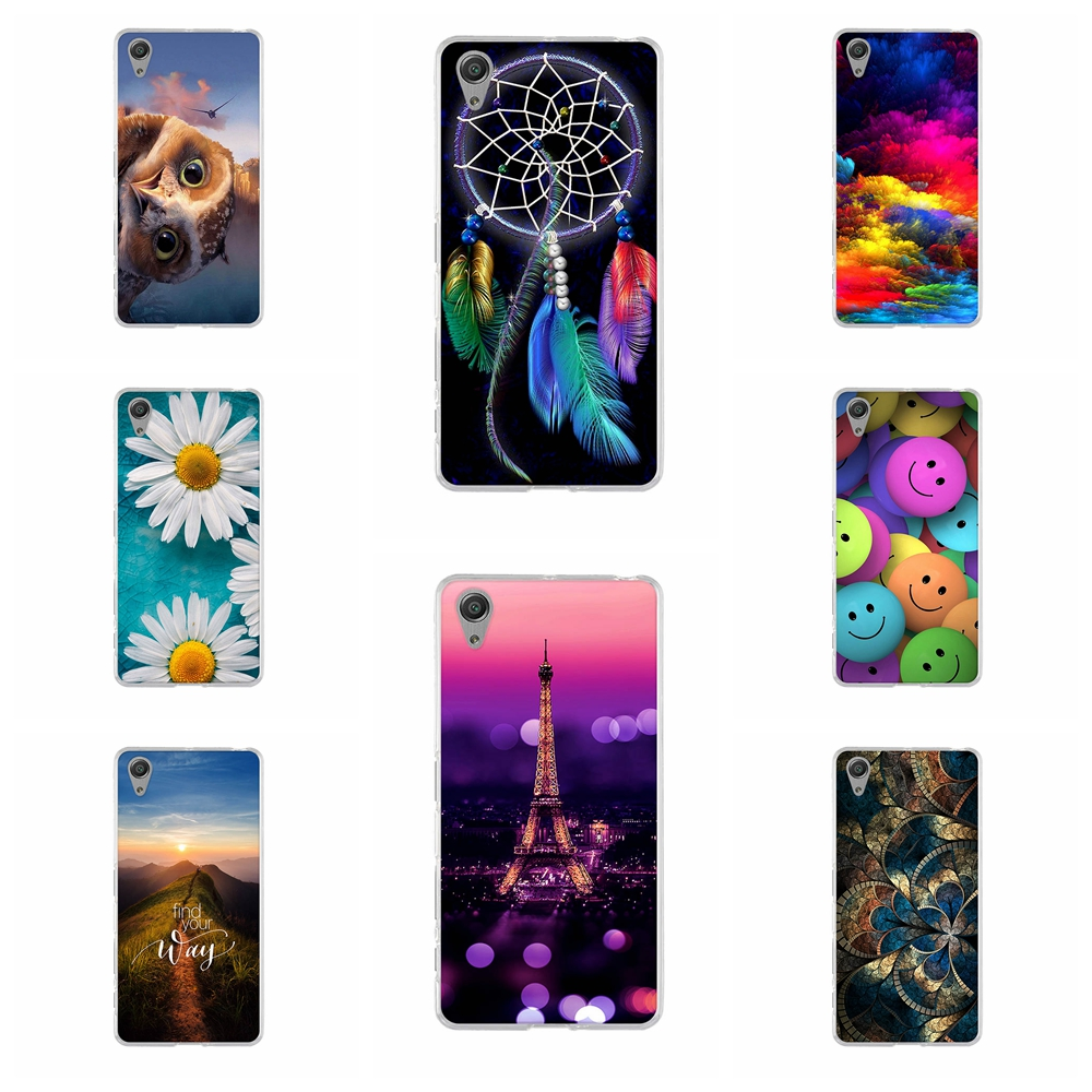 Case For Sony Xperia X Performance Silicone Phone Protect Shell For Sony Xperia X Performance Dual F8132 TPU Fundas Cover 5.0