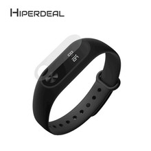 HIPERDEAL 2PCS 0.1mm HD Protective Waterproof For Xiaomi Miband 2 Film Transparent For Smart Watch A