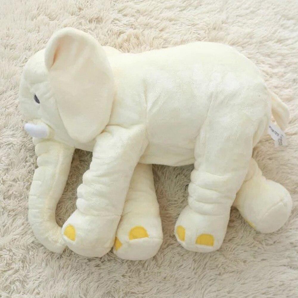 Fresh OCDAY 60cm Elephant Pillow Plush Toys Stuffed Doll Large Sleeping  GF91