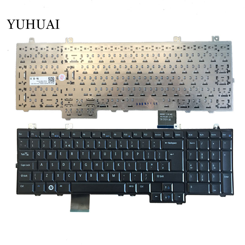 UK Black New Replace Laptop Keyboard For DELL Studio 1735 1736 1737 PP31L TR334 Keyboard