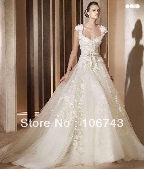 White Bride Long Dresses Maxi